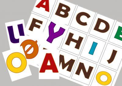 Alfabet kasse